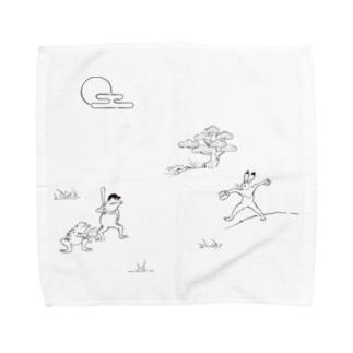 野球戯画 Towel handkerchiefs