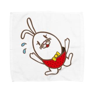 おっとっとベリー Towel handkerchiefs