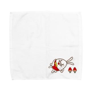 ごろんちょベリー Towel handkerchiefs