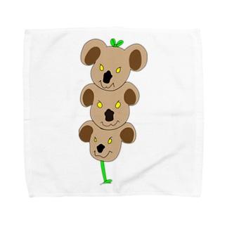 植物✖︎コアラ Towel handkerchiefs