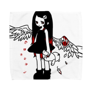負傷天使ちゃん タオルハンカチ