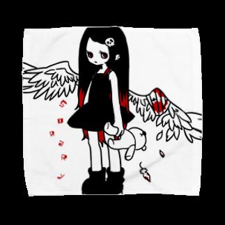 そらの負傷天使ちゃん Towel handkerchiefs