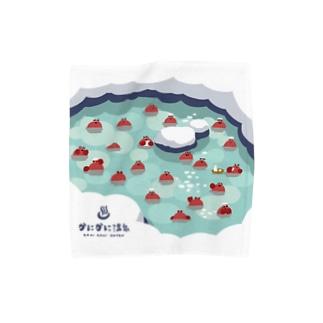 カニカニ温泉【Mサイズ専用】 Towel handkerchiefs
