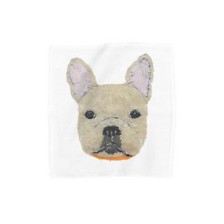 フレンチブルドッグ  Towel handkerchiefs