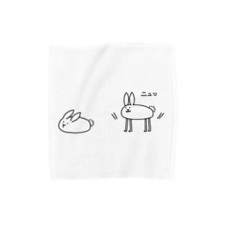 ゆきうさぎ Towel handkerchiefs
