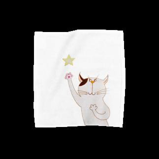 MAYUGENEKOpresentsのきのうのアイツ 星ver. タオルハンカチ