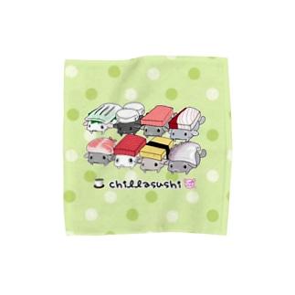 【M専用】チラ寿司 Towel handkerchiefs