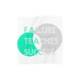 失敗は成功のもと Towel handkerchiefs