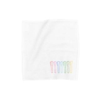 レインボーながねぎ Towel handkerchiefs