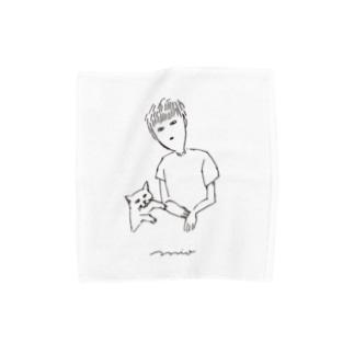 ぺアルック Towel handkerchiefs