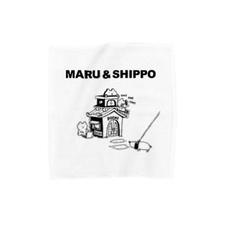 maru&shippo house タオルハンカチ