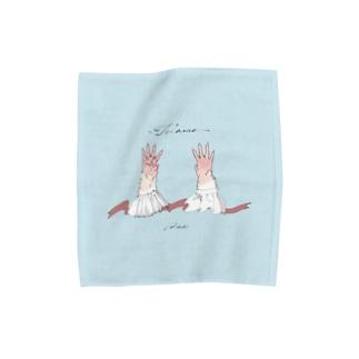 あなたの手が大好き  Towel handkerchiefs