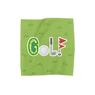 ゴルフに行こう♪ Towel handkerchiefs