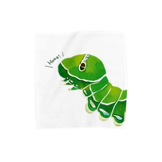ナミアゲハの幼虫 Towel handkerchiefs