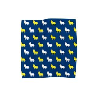 ドットゆる馬ハンカチ2 Towel handkerchiefs