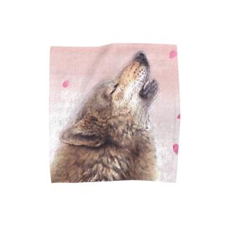 桜花 Towel handkerchiefs