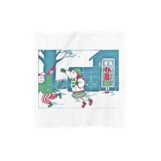 SU-KUのフベンでシアワセ Towel handkerchiefs