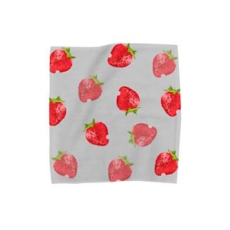 ストロベリー布 Towel handkerchiefs