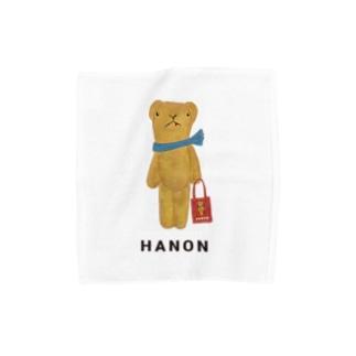 ベロだしベア お買いもの Towel handkerchiefs