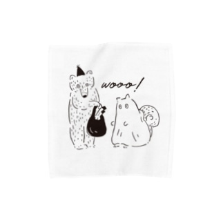 おばけパーティー Towel handkerchiefs