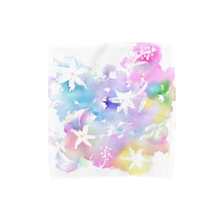 Flower Towel handkerchiefs