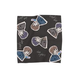 ひとぅんタオルL Towel handkerchiefs