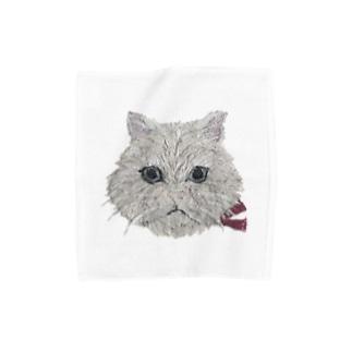 ペルシャ猫 Towel handkerchiefs