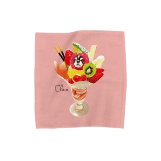 フラミンゴピンクM Towel handkerchiefs
