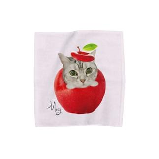 パウダーピンクM Towel handkerchiefs