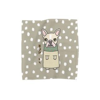 茶道部〜もちさん Towel Handkerchief