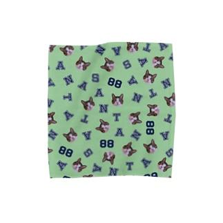 まいにちサン太88ミント Towel handkerchiefs