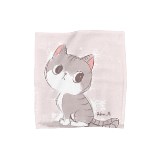 Artworksのみーちゃん Towel handkerchiefs