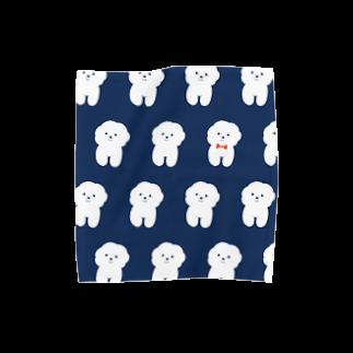inuicaのMy Bichon Towel handkerchiefs