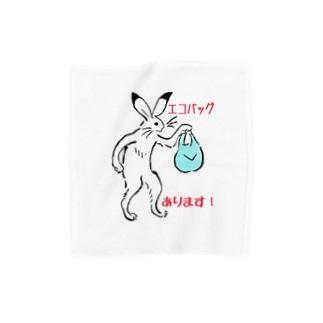 エコバッグ、あります! Towel handkerchiefs