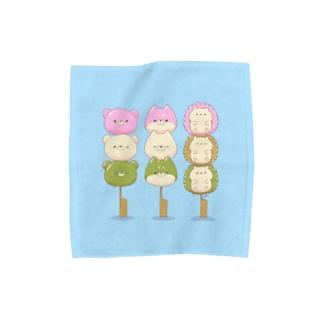 三色だんごさん Towel handkerchiefs