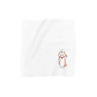 Glamorous design studioの「Mei」ちゃんタオルハンカチ Towel handkerchiefs
