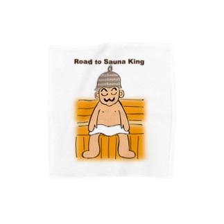 サウナ王への道 Towel Handkerchief