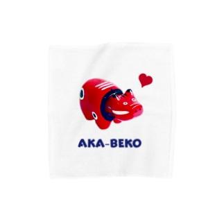 AKA-BEKO Towel handkerchiefs