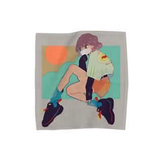 らしく Towel handkerchiefs