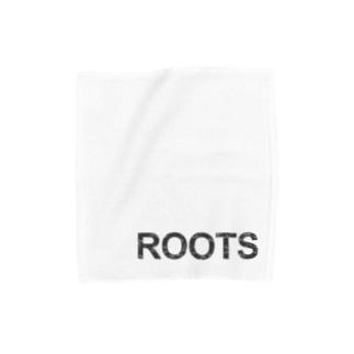 ROOTS公式 Towel handkerchiefs