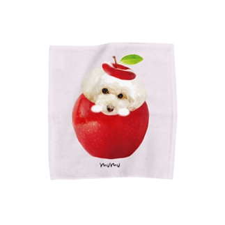 mumu パウダーピンクM Towel handkerchiefs
