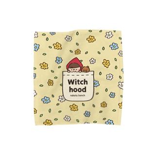 Witch hood のハンカチタオル Towel handkerchiefs