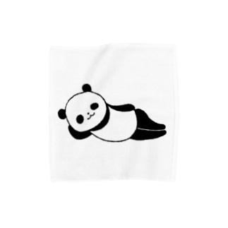 ねパンダ Towel handkerchiefs