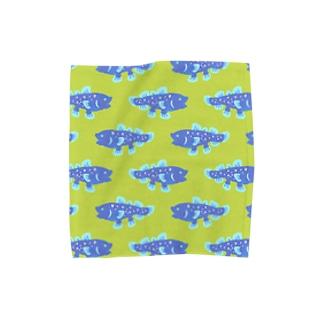 シーラカンス タオルハンカチ Towel handkerchiefs