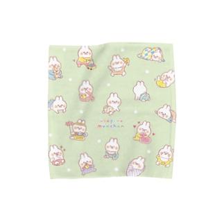 うさぎのムーちゃん〈ベイビー〉 Towel handkerchiefs