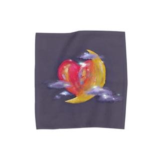 misty moon Towel handkerchiefs