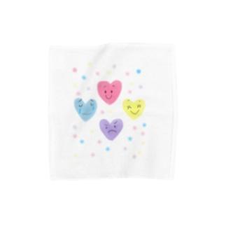 こころの色 Towel handkerchiefs