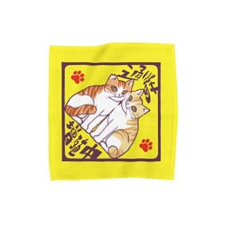 🐈通い猫増殖中🐈 Towel handkerchiefs