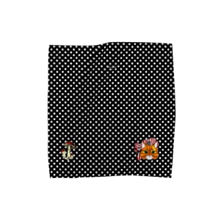 ミミンヌとキノコのタオル Towel handkerchiefs