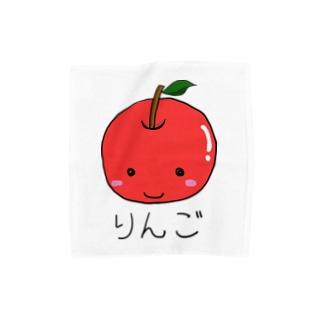 りんごちゃん Towel handkerchiefs